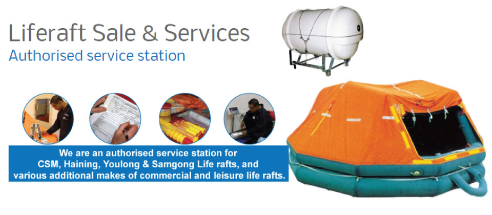 New Life raft sale and life raft services