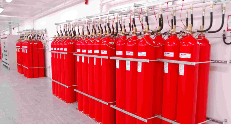 Marine Fire Extinguishing Systems